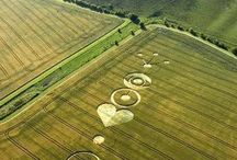 UFO? - CROP CIRCLES