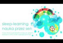 Sleep learning. Sleep and learn English.
