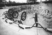 """BMX / Pool riding & 20"""" bmx bikes"""