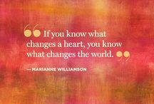 Marianne Williamson Quotes / by Shana Ritter