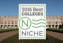 2016 Niche College Rankings / Choosing a college is about finding the right fit—balancing academics, student life, and affordability. We rank over 1,000 colleges based on more than 50 statistics and nearly 12 million opinions from 300,000 students.  https://colleges.niche.com/rankings/ / by Niche