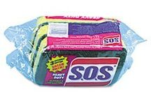 Cleaning Supplies - Sponges