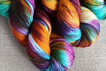 Hand dyed yarn / Need I say more?