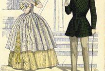Fashion Plates and Portraits: 1840-1849