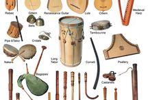 Instruments Música antiga