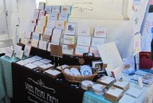 Craft Fair Displays & Ideas
