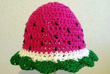 Crochet hats / by Lori Enyart