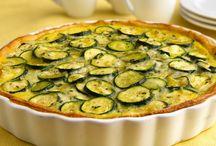 Zucchini Pie.