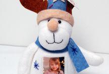 christmas decoration with photos / christmas decoration with photos