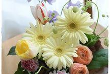 【お礼のお花】生花 / 「ありがとう」「お世話になりました」の気持ちを お花で贈りませんか?