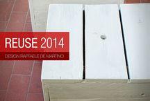 REUSE 2014 | arredi in legno riutilizzato / elementi di arredo in legno riutilizzato / design Raffaele De Martino www.zud.it