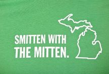 Mitten Love / Showing our love and pride of our Great Lake State - Michigan!