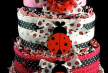 Diaper cake ideas / by Natalie Sturgeon