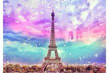 Париж❤ / Фотографии во Франции в Париже эйфелево башни.