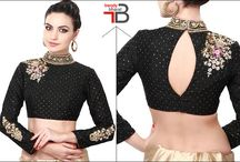 Gorgeous Blouse Designs / Exclusive blouse designs to try out this season.