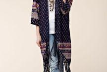 Tribal Multi color kimono