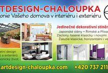 Krása na oknech...ARTDESIGN-CHALOUPKA.COM / Dekorativní i praktické stínění oken v krásných realizacích...