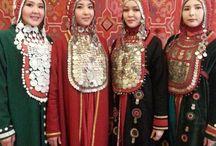 Bashkirs costumes