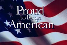 Proud  to be an AMERICAN / by Lilia Reed