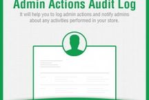 Admin Actions Audit Log Extension / Get detail log of all the activities performed in #Magento store backend by admin users, take strategic action to control and block unwanted login attempts.