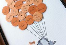 Chá de Bebê - Guest Books / Ideias lindas para você deixar registros do seu chá de bebê.