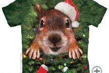 Karácsonyi Mountain pólók