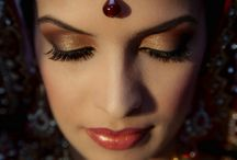 Bride Hair and Makeup / Here you see how our beautiful brides get perfect for their biggest day! ~ from focusproduction.ca