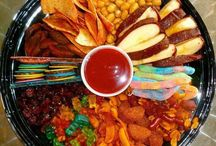 mesa dulces saladas