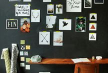chalk board graphics and ideas / Things that make the black walls more interesting!