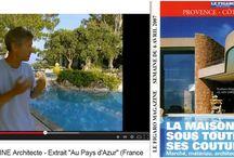 #ALAIN GIRELLI & #LUC SVETCHINE / Mes créations avec  Luc SVETCHINE  architecte DPLG  #frenchriviéra