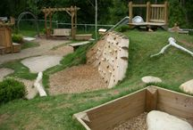 Child friendly retaining wall