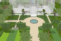 Project Orchard House / CLASSICAL COUNTRY ESTATE GARDEN DESIGN  The clients commissioned Aralia to design a master landscape scheme which would transform the field into a beautiful formal country garden.  Aralia worked as Landscape Architects within a multi-disciplinary consultant team and a range of sub-contractors. Aralia were responsible for concept creation through to design detail.  The house is still under construction.  https://www.aralia.org.uk/portfolio/orchard-house/