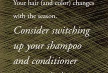 Hair Tips + Tricks