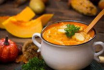 Pumpkin: heart-warming and healthy / Halloween and autumn: the perfect time to serve pumpkin recipes! This nutritious vegetable lends itself to so much more than just soup. And you can even vary pumpkin soup recipes to your heart's content!