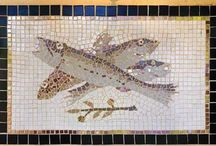 tile (Ceramic, Metal) and Mosaics / reuse ideas for various types of tiles and mosaics made from various materials including tile