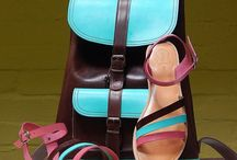 Handmade leather sandals & bags .... maching ...
