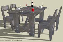 Art huisje / Over welke meubels ik heb gekozen