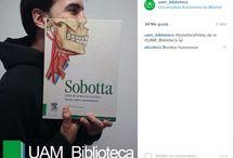"""#BookFaceFriday / Tablero en el que publicamos las fotos que hacemos nosotros y las que """"reposteamos"""" en nuestra cuenta de Instagram"""