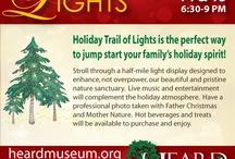 Holiday Ideas / by Heard Natural Science Museum & Wildlife Sanctuary