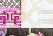 D e s i g n  B o a r d s / Visualizing what patterns/colors can mix and match great!