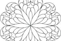 coloriages mandalas et mosaïques