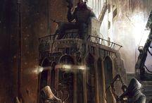 Rogue Trader - inspirasjon / Inspirasjon fra warhammer eller lignende til rogue trader