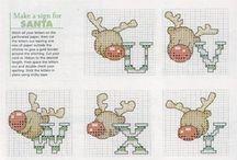 Christmas - Cross Stitch ABC