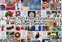 horgolt karácsonyi minták