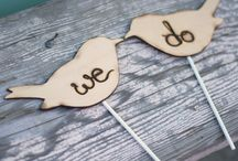 .cake toppers just for lindsay. / by Sarah Kovack