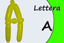 Alphabet Balloons Twisting / List of video tutorials to learn how to make an alphabet of balloons!