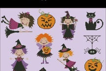 Halloween Cross Stitch Charts / Halloween cross stitch projects for chilly nights! / by Pinoy Stitch