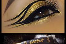 Maquillaje egipcio cleopatra
