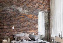 Homely Love - Halfbrick / Brick home ideas