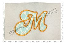 Embroidery Fonts / Personalize it using fabulous fonts!